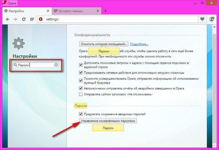 Как сделать пароль на браузер 842
