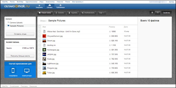 Remote data storage  What service gives the largest free space on