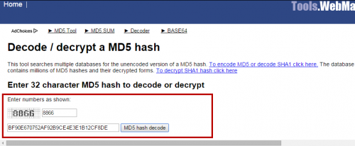 Decrypt passwords md5  Online MD5 encryption  An overview of
